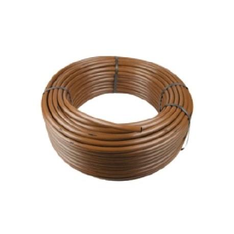 rotolo tubo ala gocciolante autocompensante marrone da 16 On tubo ala gocciolante