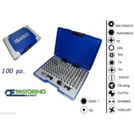 PASTORINO KIT DI INSERTI PASTORINO EXPERT E131709 ASS. INSERTI 100 PZ