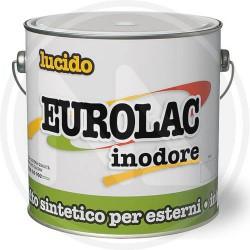 ORO - SMALTO SINTETICO LUCIDO ESTERNI INTERNI EUROLAC 0,750LT - 49177