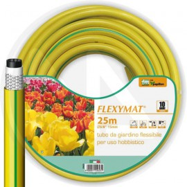 "TUBO IRRIGAZIONE 5/8""x25mt. ""FLEXYMAT"" Ø X L 5/8""x25mt. PAPILLON MADE IN ITALY"