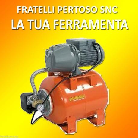 GRUPPO AUTOCLAVE AGC800/22 HP 0,8, PRESSURIZZAZIONE A FUNZIONAMENTO AUTOMATICO
