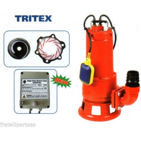 ELETTROPOMPA POMPA TRITURATRICE AUTOM. LEPORIS TRITEX 150 HP 1,5 220V + QUADRO