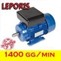 MOTORE ELETTRICO 0,75HP V230M 4 POLI 1400 GG.MIN Forma B3 - Leporis MOTORI ELETTRICI